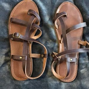 Strapped Sandals